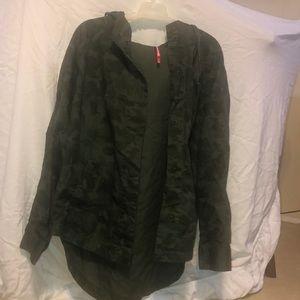 Camo hooded jacket